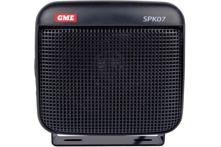 GME SPK07 8Ohm dust and  water resistant extension speaker with lead and plug black