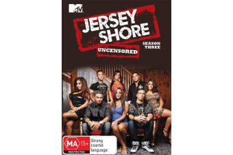 Jersey Shore Season 3 DVD Region 4