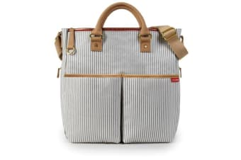 Skip Hop Duo Special Edition Diaper Bag - French Strip