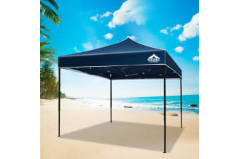 Pop Up Gazebo 3x3 Outdoor Tent Folding Wedding Marquee Gazebos Navy