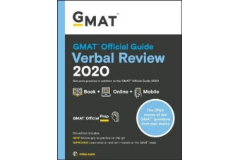 GMAT Official Guide 2020 Verbal Review - Book + Online Question Bank