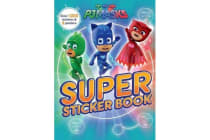 PJ Masks Super Sticker Book