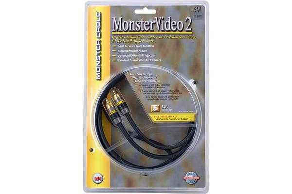 Monster Monster Video2 Series Rca Lead
