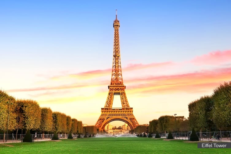 EUROPE: 16 Day European Highlights Including Flights for One (Sharing with Same Sex)
