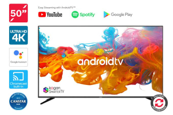 "Refurbished Kogan 50"" 4K LED SmarterTV (Android, Smart TV)"