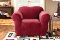 SureFit Pearson Sofa Chair Cover - Red