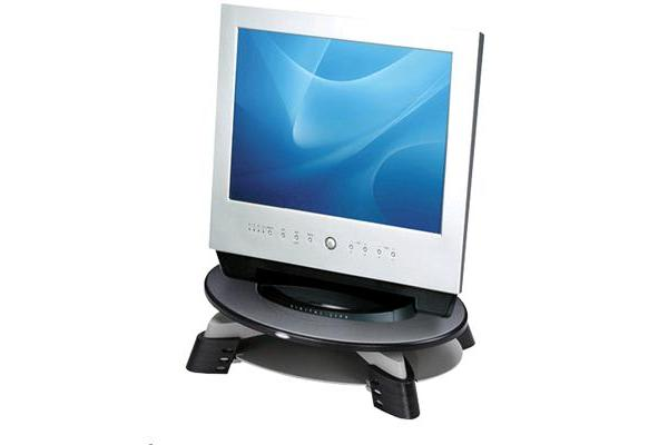 Fellowes LCD Monitor Riser with 3 Fixed Height Positions