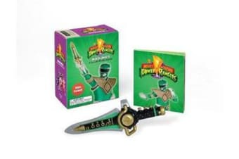 Mighty Morphin Power Rangers Dragon Dagger and Sticker Book - With Sound!