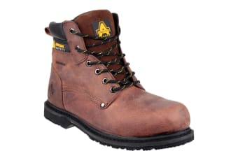 Amblers FS145 Mens Safety Boots (Brown)