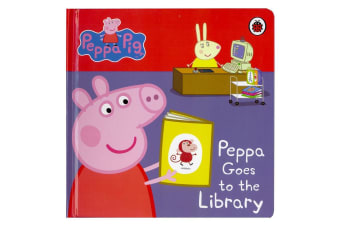 My First Storybook Peppa Pig - Peppa Goes to the Library