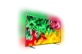 "Philips 6700 series, 164 cm (65"") 4K Ultra Slim TV with Ambilight 3-sided,"