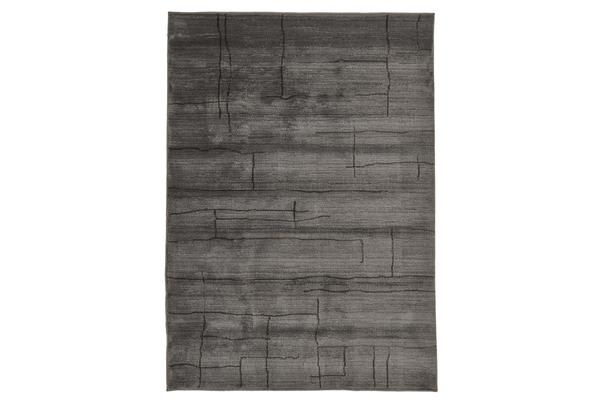 Morrocan Paved Design Rug Grey 290x200cm
