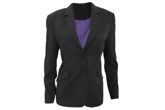Brook Taverner Womens/Ladies Hebe Formal Suit Jacket (Charcoal)