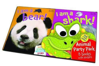 Animal Party Pack 8 Book Set