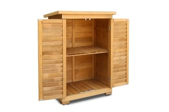 Fir Wood Outdoor Storage Box