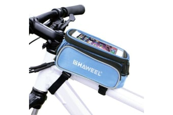 For iPhone 7  7 Plus / 6S 6 / For iPhone 6S PLUS 6 PLUS Bag Bicycle Pouch Blue