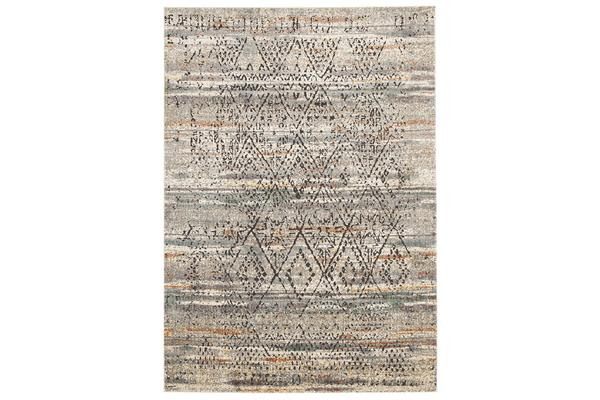 Fluid Mornings Modern Grey Rug 330x240cm