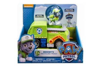 Paw Patrol Rocky's Recycling Truck with Figure