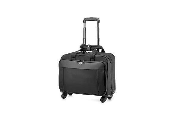HP BUSINESS 4WHEEL ROLLER CASE 17.3
