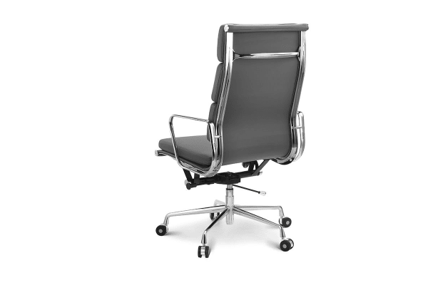 Ergolux Executive Eames Replica High Back Padded Office Chair (Grey)