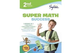 2nd Grade Jumbo Math Success Workbook - Activities, Exercises, and Tips to Help Catch Up, Keep Up, and Get Ahead
