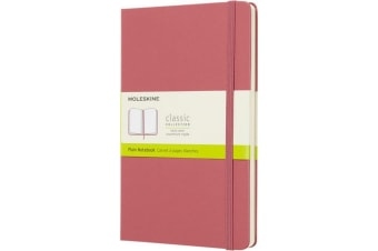 Moleskine Classic L Hard Cover Notebook (Pink) (One Size)