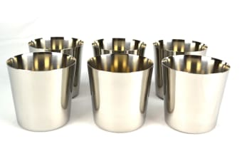 Stainless Steel Dariole Moulds - Set Of 6
