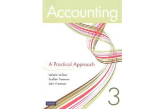 Accounting - A Practical Approach