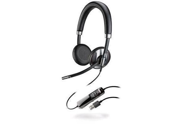 PLANTRONICS BLACKWIRE C725 CORDED USB HEADSET WITH ACTIVE NOISE CANCELING