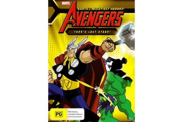 Earth's Mightiest Heroes! The Avengers: Thor's Last Stand