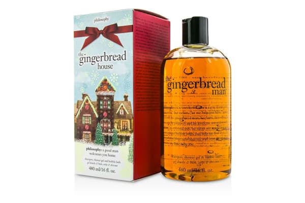 Philosophy Gingerbread Shampoo, Shower Gel & Bubble Bath (480ml/16oz)