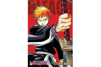 Bleach (3-in-1 Edition), Vol. 1 - Includes vols. 1, 2 & 3