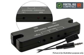 PRO1326 IR Infra-red Remote Control Extender Repeater Kit Foxtel IQ2 Compatible