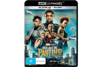 Black Panther (4K UHD/Blu-ray)