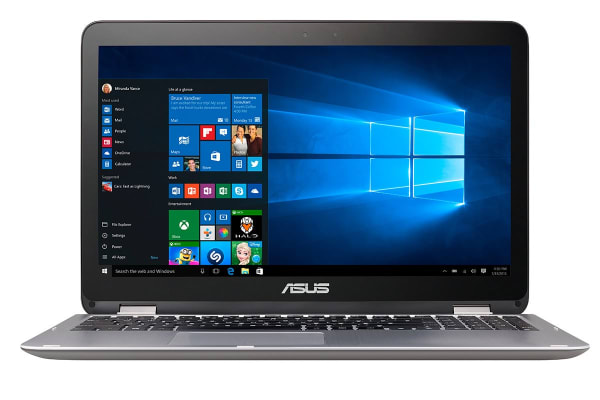 "ASUS 15.6"" VivoBook Flip Core i7-7500U 8GB RAM 1TB 940MX 2GB Touch Full HD 2 in 1 Notebook (TP501UQ-DN103T)"