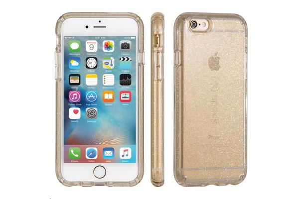 Speck 73684-5636 Apple iPhone 6 Candyshell - Clear Gold Glitter