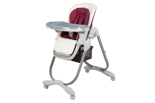 Childcare Trevi High Chair Baby Feeding - Berry Happy