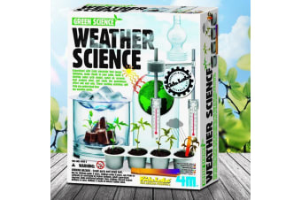 4M Weather Science Experiments Kit