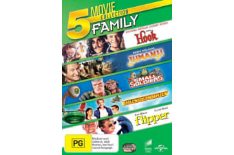 Hook / Jumanji / Small Soldiers / Thunderbirds / Flipper DVD Region 4