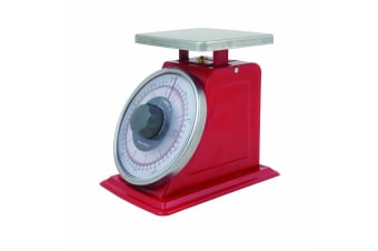 Savannah Professional Mechanical Kitchen Scale 5kg Red
