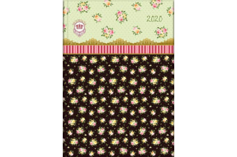 Victoriana - Rose Chintz - 2020 Diary Planner A5 Padded Cover Gifted Stationery