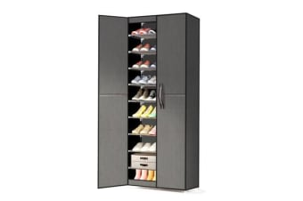 10 Tiers Stackable Storage Shoe Rack