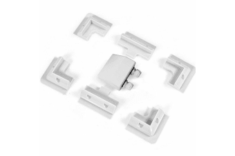 7 Pcs Solar Panel Corner Mounting Brackets Kit Caravan Boat RV Vehicle Roof Mount