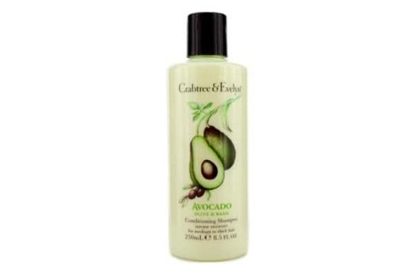 Crabtree & Evelyn Avocado Olive & Basil Conditioning Shampoo (For Medium to Thick Hair) (250ml/8.5oz)