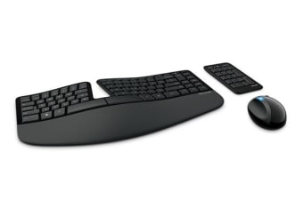 Microsoft Sculpt Ergonomic Desktop Keyboard and Mouse (L5V-00027)