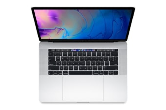 "Apple Macbook Pro 15.4"" 2018 2.2Ghz with Touch Bar 256GB - Silver"