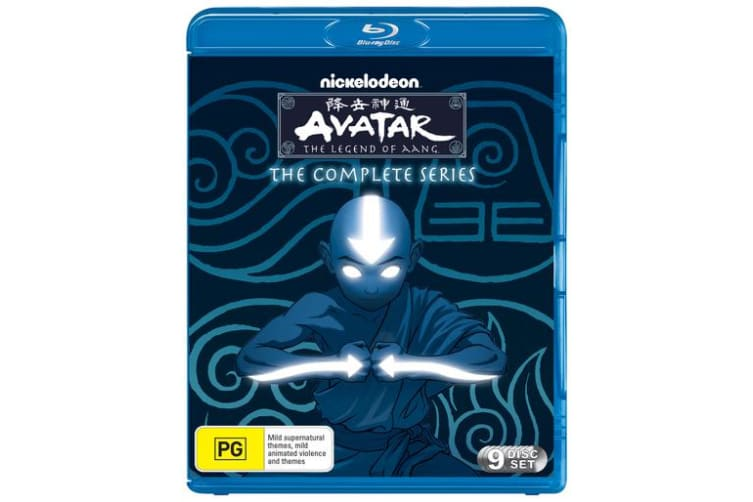 Avatar The Last Airbender The Complete Collection Box Set Blu-ray Region B