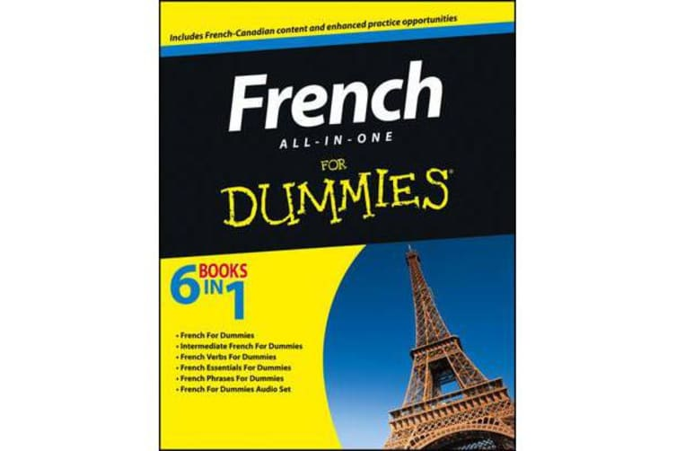 French All-in-One For Dummies - with CD