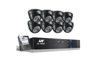 1080P CCTV Security Camera with 8 Cameras
