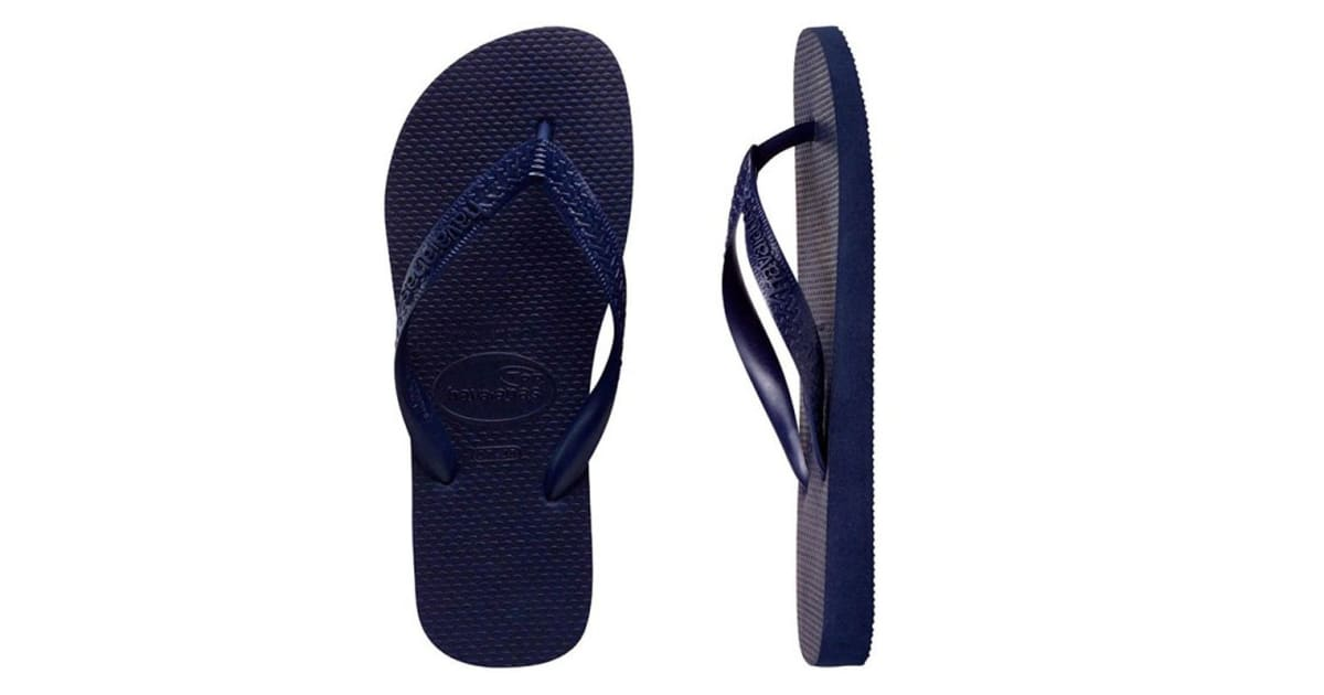 f45624f89449 Havaianas Top Thongs (Navy Blue
